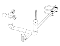 Sensor mounting bracket and bolts